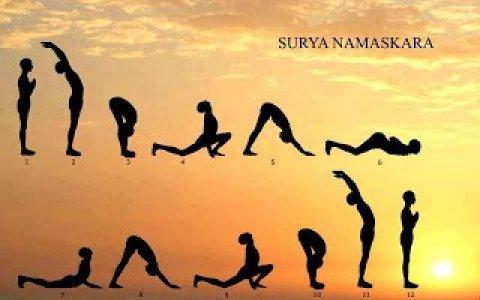 Yoga - Surya Namaskar