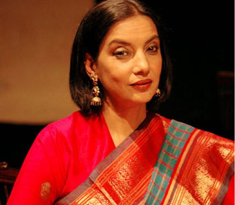 Shabana Azmi- Actress and Social Activist