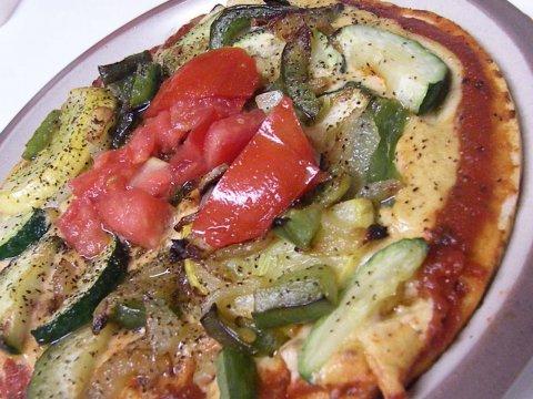 Veg Mini Pizzas - Zucchini special